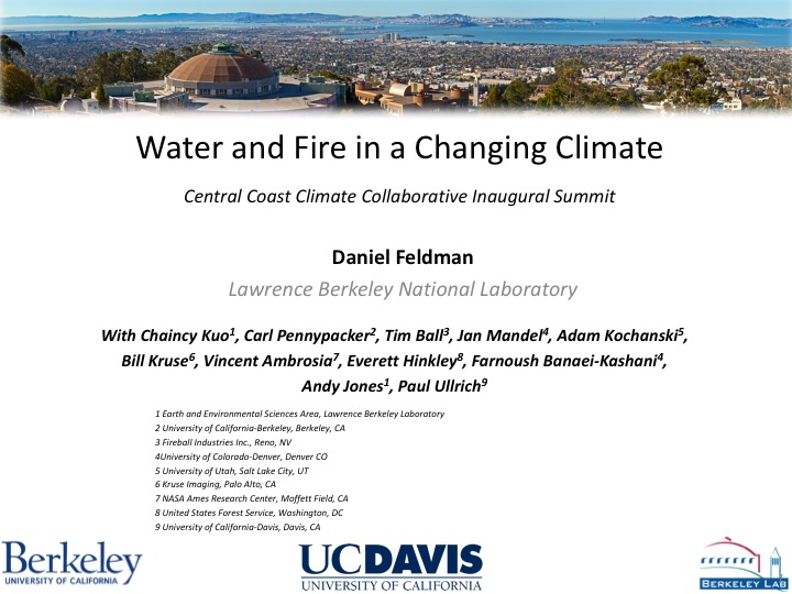 Inaugural Summit: August 23, 2017 – Central Coast Climate